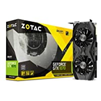 Zotac GeForce GTX 1070 AMP Core Edition GeForce GTX 1070 8GB GDDR5 - Tarjeta gráfica (GeForce GTX 1070, 8 GB, GDDR5, 256 bit, 8000 MHz, PCI Express 3.0)