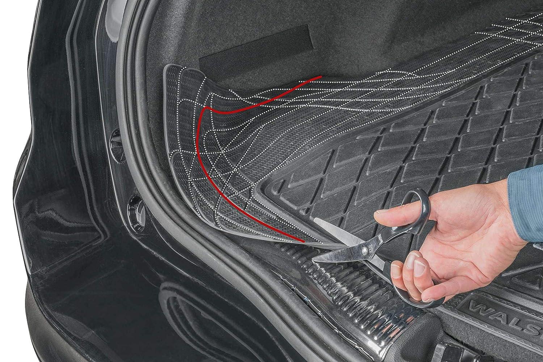 Tappetino in Gomma per Bagagliaio Baule Auto ritagliabile Misura 130 x 120 cm 2013 - in Poi rmg-distribuzione Tappeto Baule per Forester Versione R25S0809 SJ RMG25