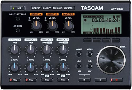Tascam DP-006 6-Track Digital Pocketstudio