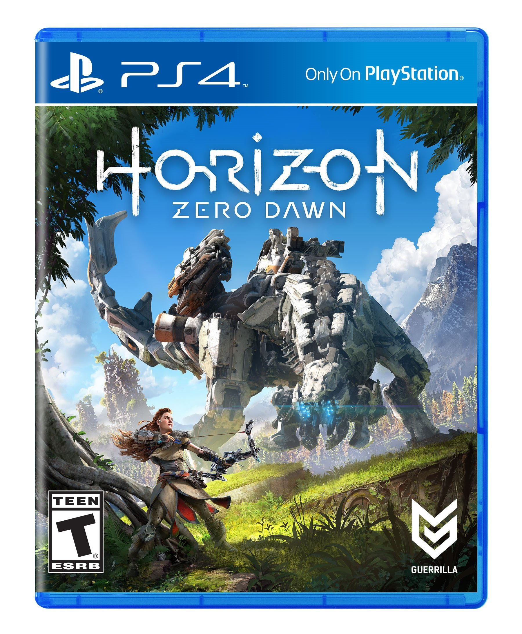 Amazon Com Horizon Zero Dawn Playstation 4 Sony Interactive