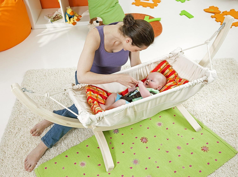 Amazonas inlay für baby hängematte sunny 86cm x 46cm in orange
