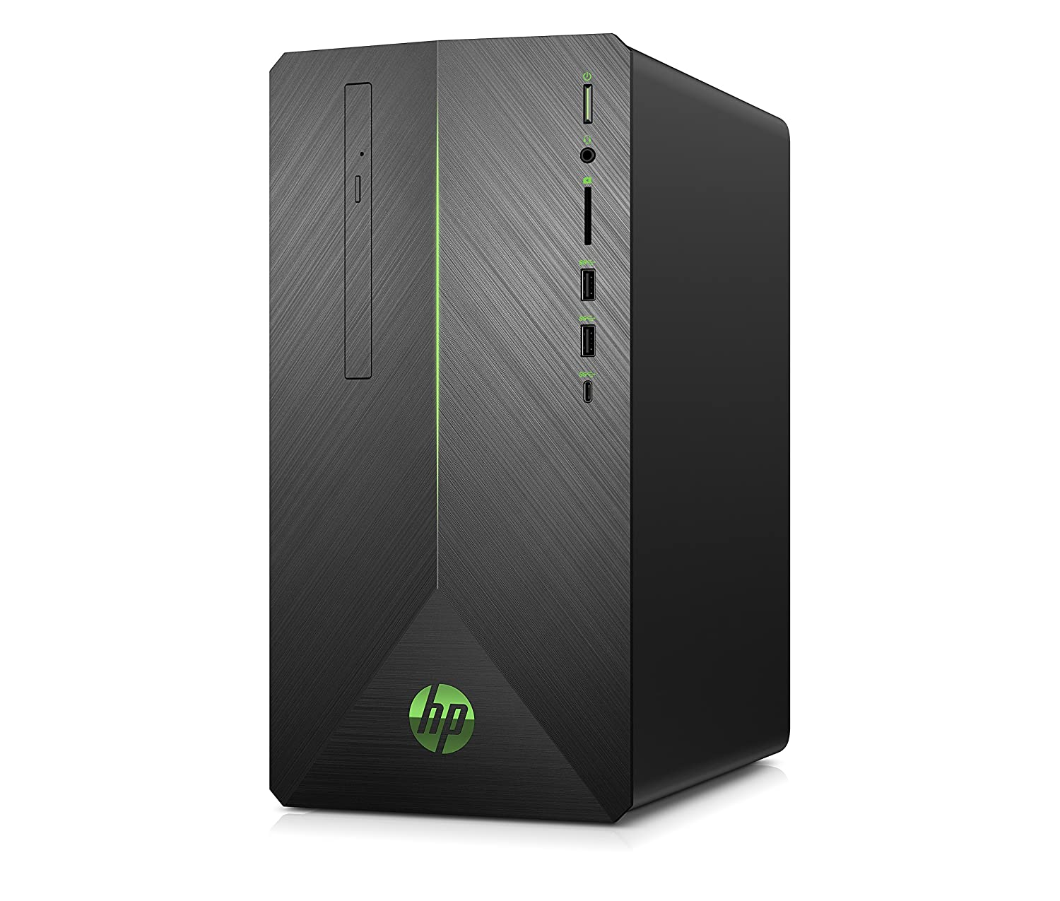 HP Pavilion Gaming 690-0023ns- Ordenador de sobremesa (Intel Core i3-8100, 8GB RAM, 1TB HDD, Nvidia GeForce GTX1050-2GB, sin sistema operativo), color ...