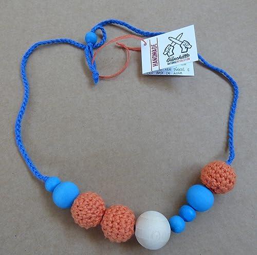 Collar de lactancia y porteo texturas: Amazon.es: Handmade
