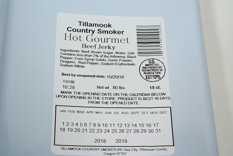 Amazon.com: Tillamook Country Smoker Beef Jerky 15 Ct. Slabs ...