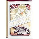 Hallmark Star Wars Anniversary Card, Love Card (Han Solo, Princess Leia)