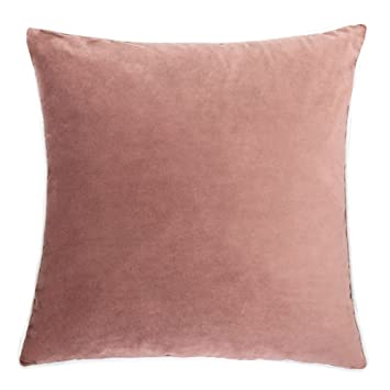 Amazon Homey Cozy Blush Velvet Throw Pillow CoverPink Series Awesome Blush Pink Decorative Pillows