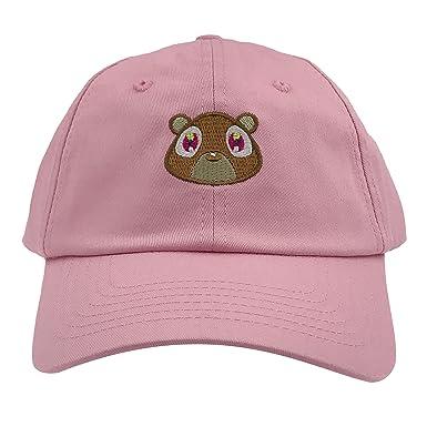 ebb1e8f459cd1 Kanye West Bear Hat Dad Hat Strap Back Costume Head Men Women New Pink   Amazon.ca  Books