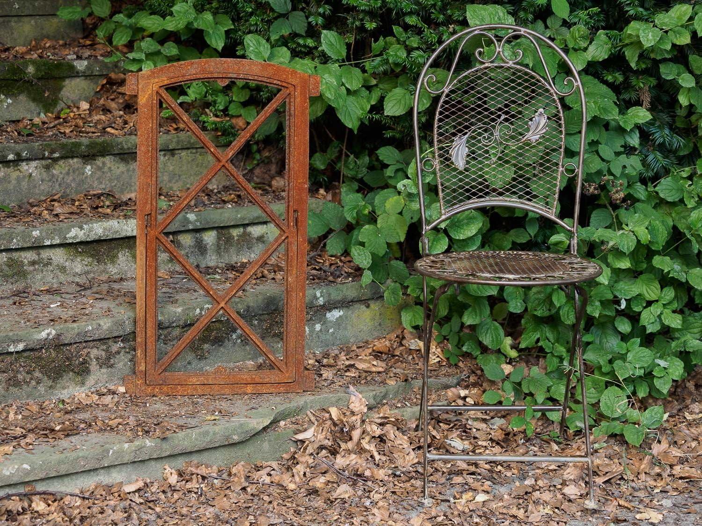 Stallfenster Klappfenster Scheunenfenster Eisenfenster 38x76cm im Antik-Stil
