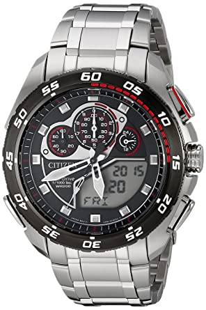 662a85af2 Image Unavailable. Image not available for. Color: Citizen Eco-Drive Men's  JW0111-55E Promaster Watch