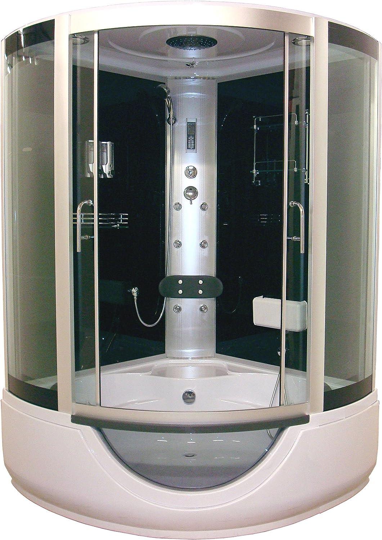Aqua Plus sachcabfarox Faro 136/136 de cabina de ducha Hydro gris ...