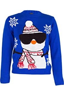 543b5f1a74ee8 NOROZE Garçons Fille Unisexe Noël 3D Pull Enfants Xams Pullover Pull-Over  Père Noël Bonhomme