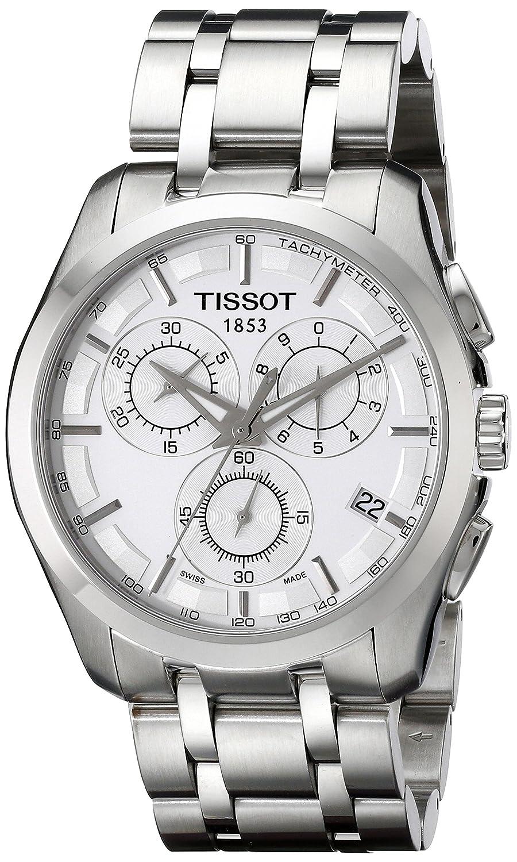 [ティソ] TISSOT 腕時計 COUTURIER クチュリエ クロノグラフ T0356171103100 メンズ 【正規輸入品】 B002KPV00M