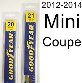 """product image for Mini Coupe (2012-2014) Wiper Blade Kit - Set Includes 20"""" (Driver Side), 21"""" (Passenger Side) (2 Blades Total)"""