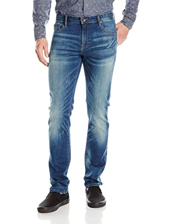 William Rast Mens Hollywood Slim Fit Denim Jean