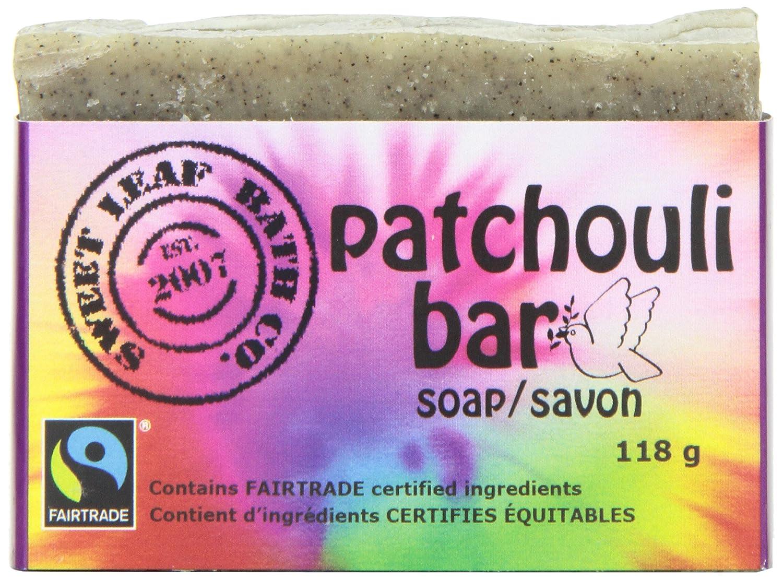 Sweet Leaf Bath Patchouli Bar Soap, Fairtrade Sweet Leaf Bath Co.