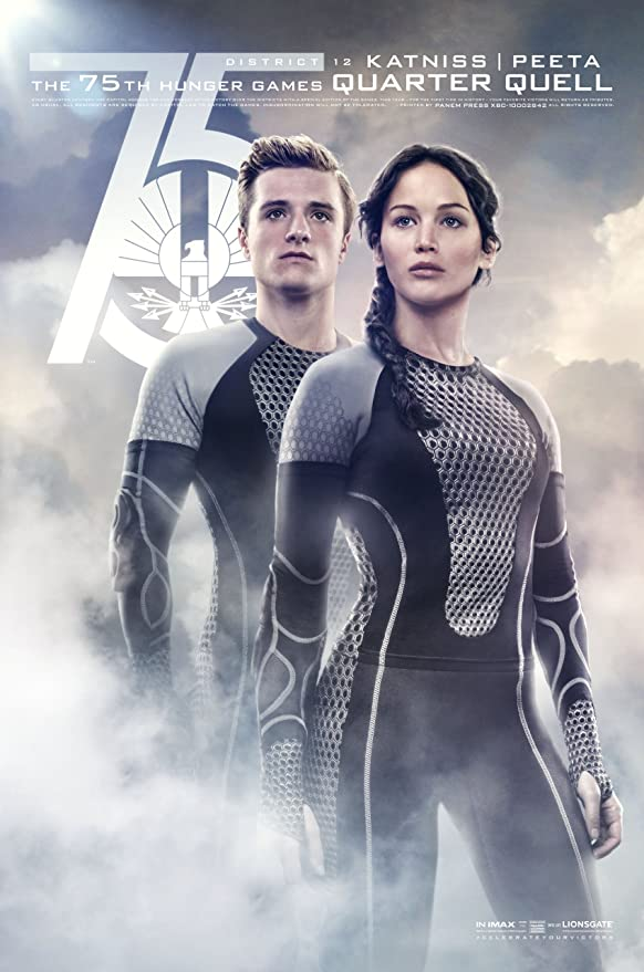 Amazon Com The Hunger Games Catching Fire Movie Poster 27 X40