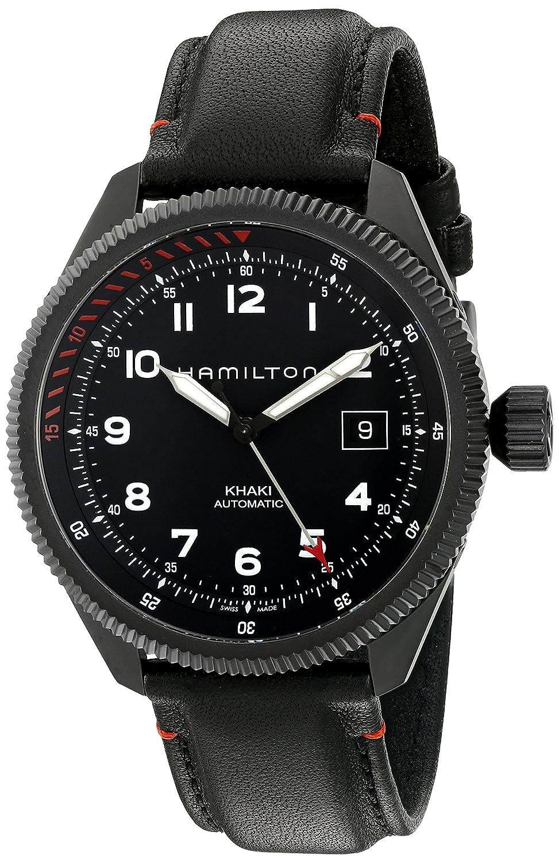 Hamilton Men s H76695733 Khaki Takeoff Auto Air Zermatt Automatic Black Watch