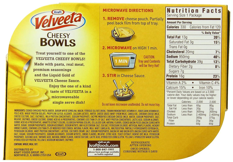 recipe: velveeta mac and cheese box nutrition [5]