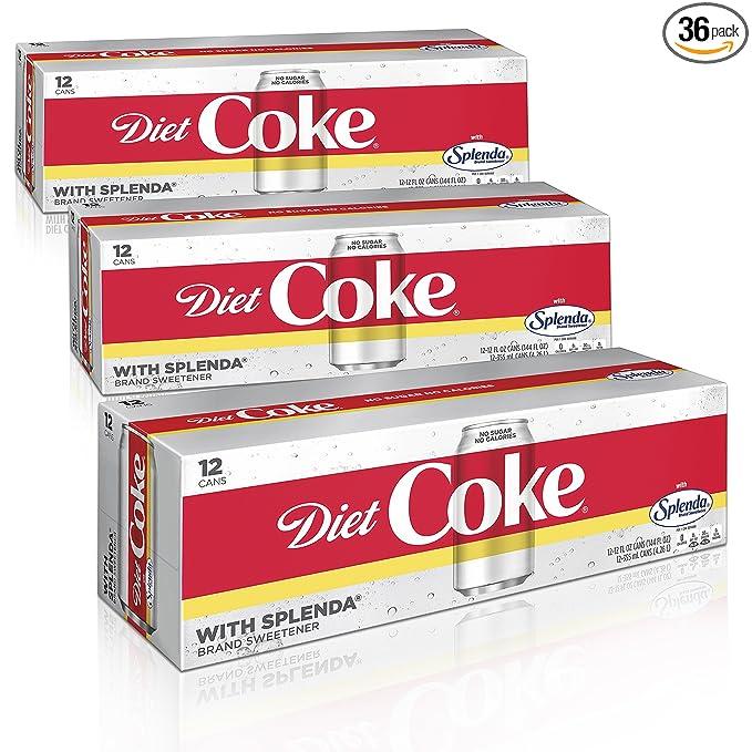 where to find diet coke with splenda