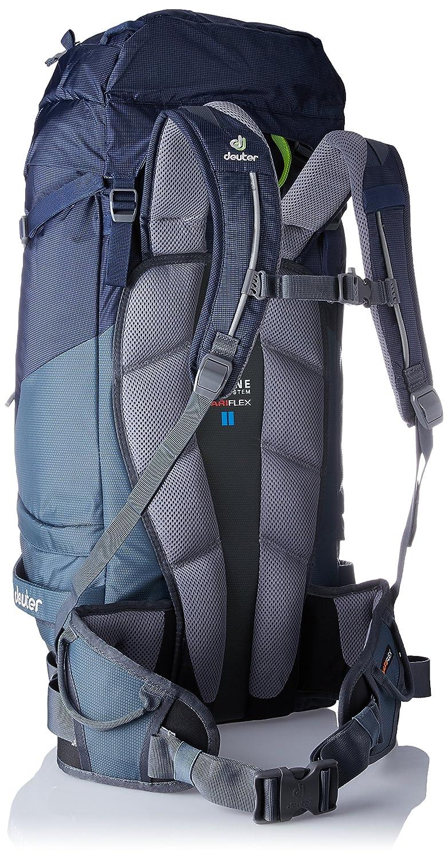 Deuter Guide 45 Plus Alpine Mochila, Unisex Adulto, Azul (Navy-Granite), 19x25x44 Centimeters (B x H x T): Amazon.es: Deportes y aire libre