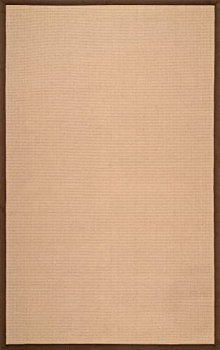 nuLOOM Laurel Machine Woven Jute Rug, 5 x 8 , Brown