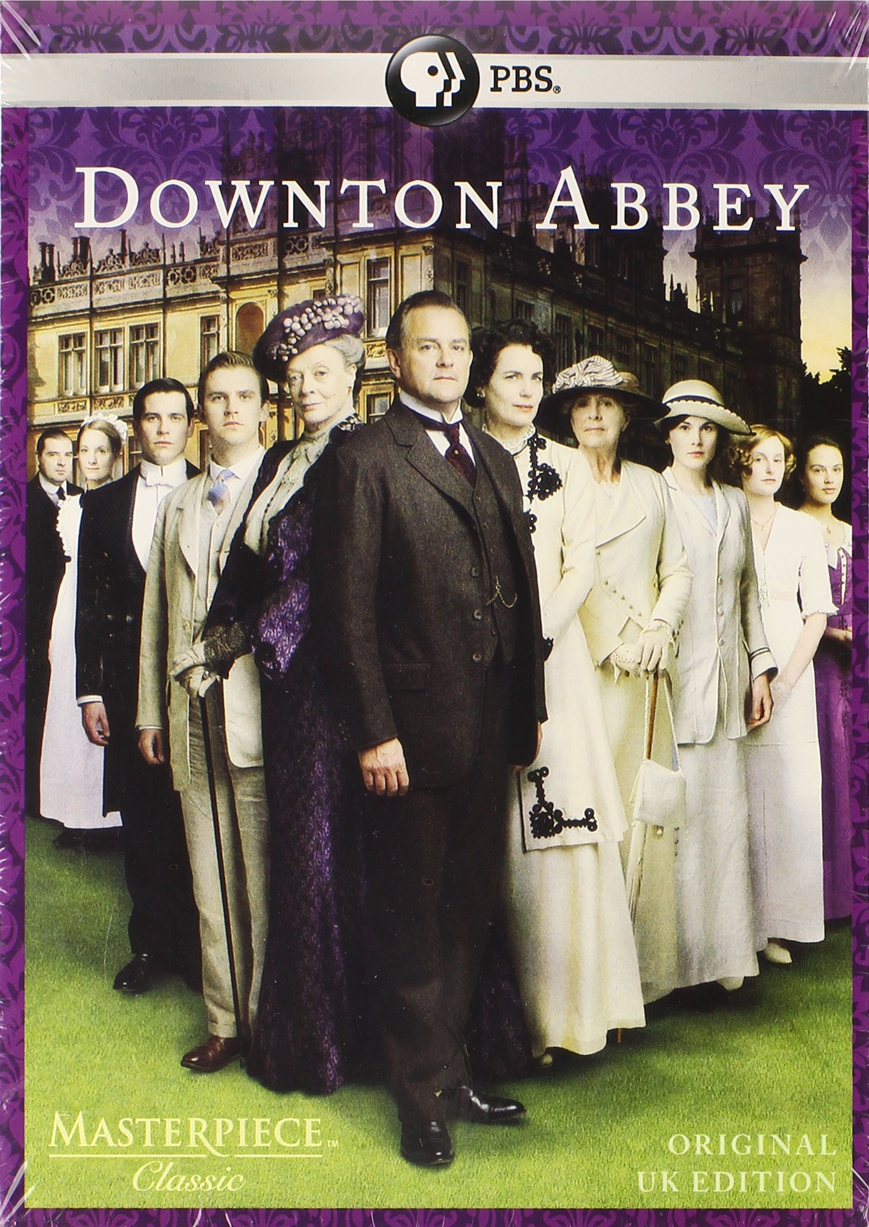 Masterpiece: Downton Abbey Complete Seasons 1, 2, & 3 DVD Set (Original U.K. Edition) by Pbs (Direct)