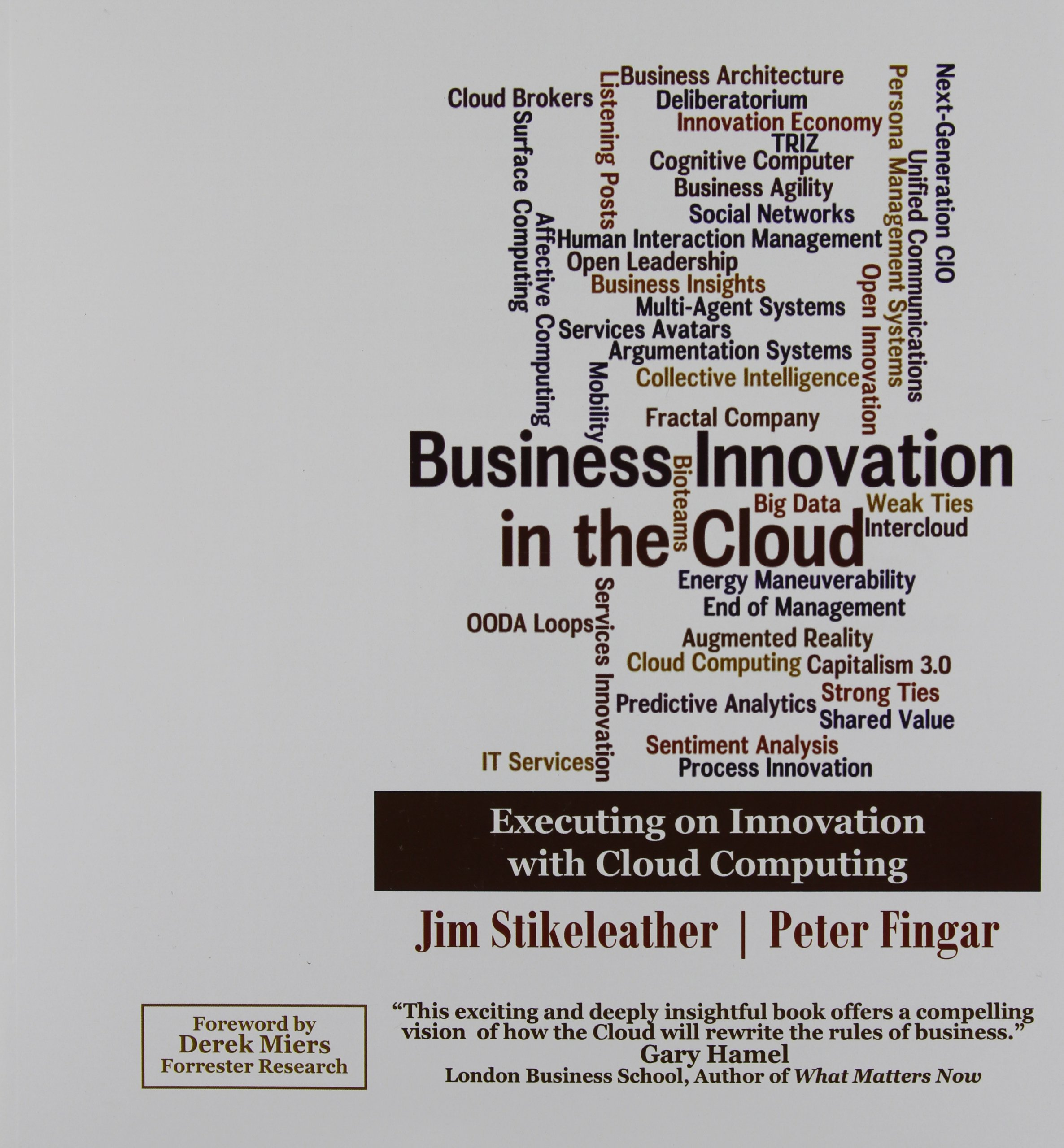 Business Innovation In The Cloud: Executing On Innovation With Cloud  Computing: Jim Stikeleather, Peter Fingar: 9780929652184: Amazon.com: Books