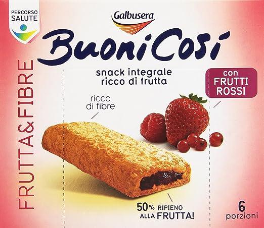 11 opinioni per Galbusera- Buoni Cos Snack, Integrale, Ricco Di Frutta E Fibre, Con Frutti
