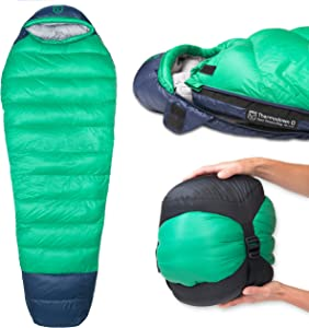 Paria Outdoor Products Thermodown Mummy Sleeping Bag
