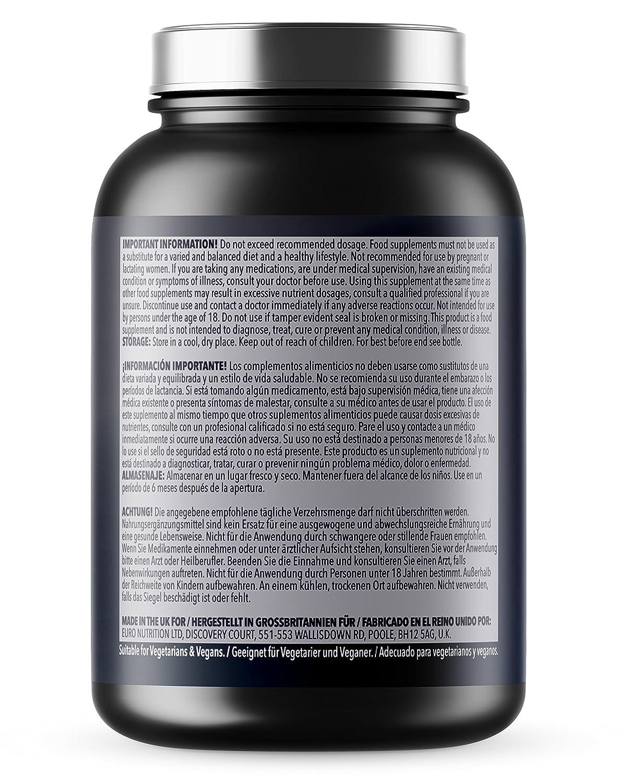 Citrato de magnesio - 200 mg x 365 pastillas | Suministro para 1 año | Aptas para vegetarianos y veganos | De la mayor calidad y fabricadas en Reino Unido ...