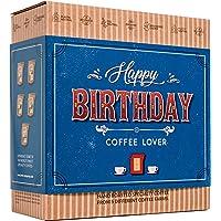 Caja de Cafe Gourmet Para Cumpleaños - Paquete de Degustación con 5 de Los Mejores Cafés Molidos Orgánicos Del Mundo…
