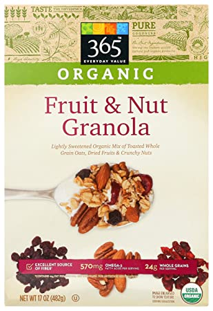 Amazon.com: 365 Everyday Value, Organic Fruit & Nut Granola ...