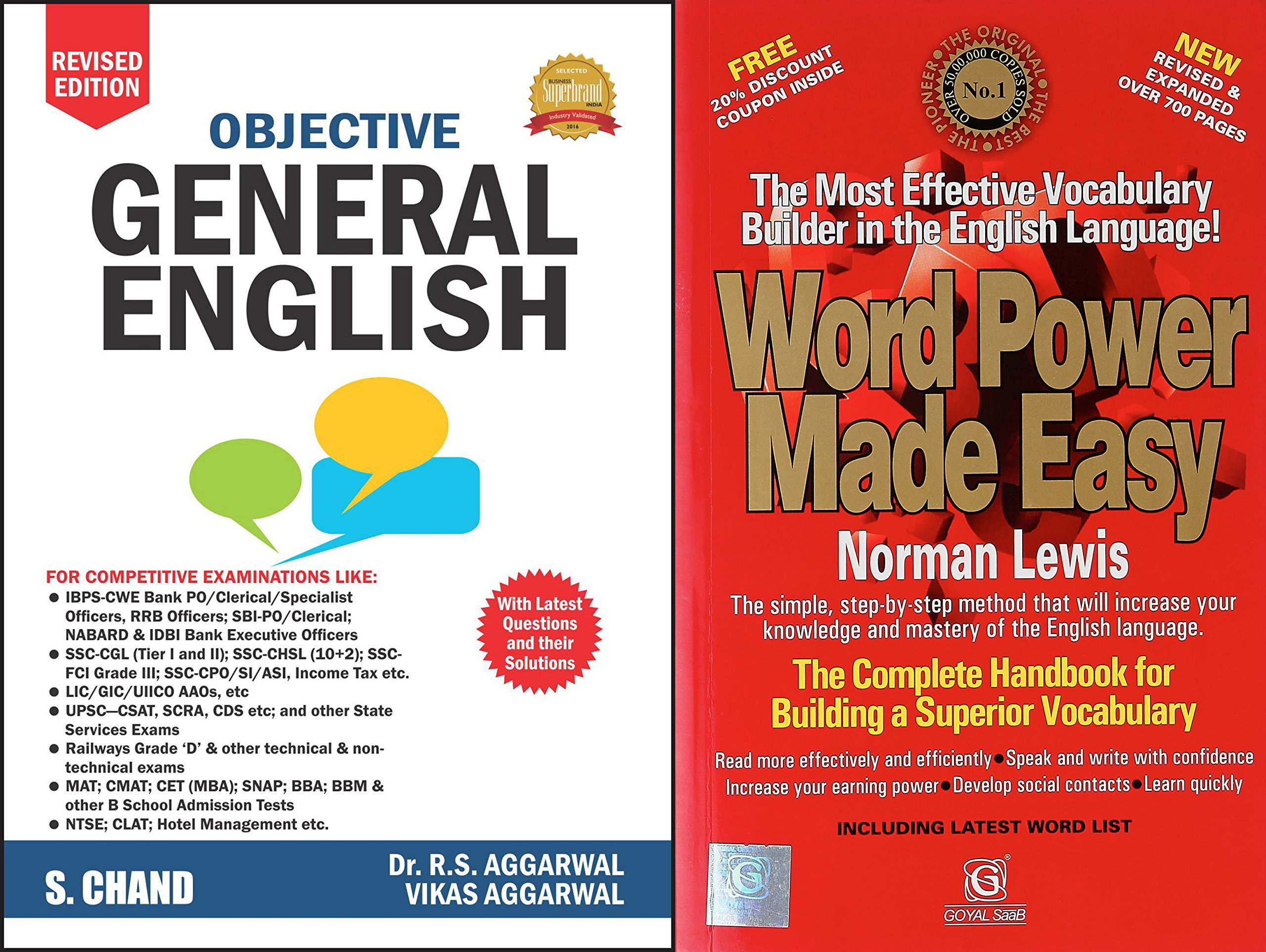 Buy Objective General English (R.S. Aggarwal) With Word Power Made Easy  Book Online at Low Prices in India | Objective General English (R.S.  Aggarwal) With ...