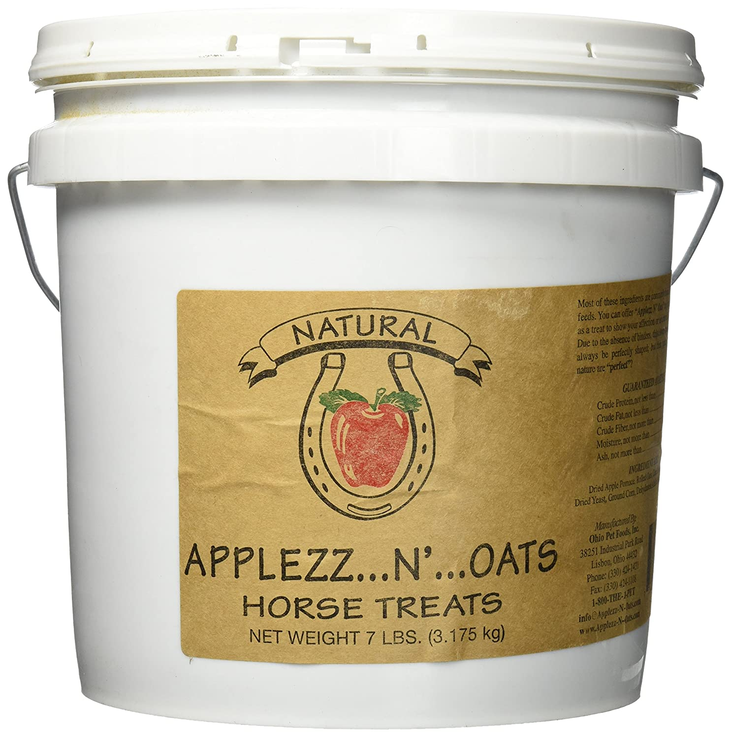 Ohio Pet Foods Applezz N-Oat Treat