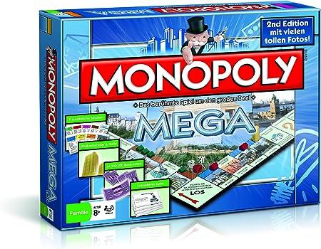 Nouveau-édition allemande MONOPOLY Mega avec rythme Cube
