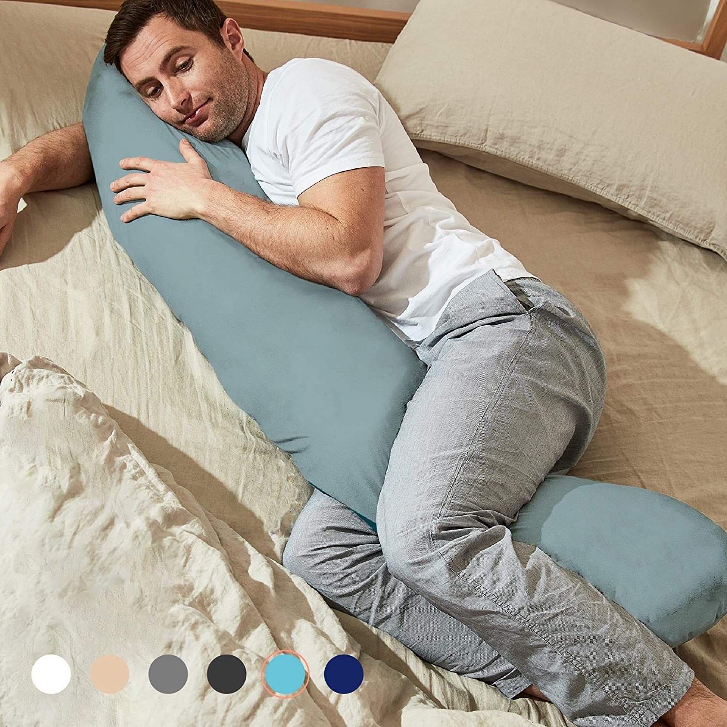 raw joint body pillow
