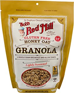product image for Bob's Red Mill Gluten Free Honey Oat Granola, 12-ounce