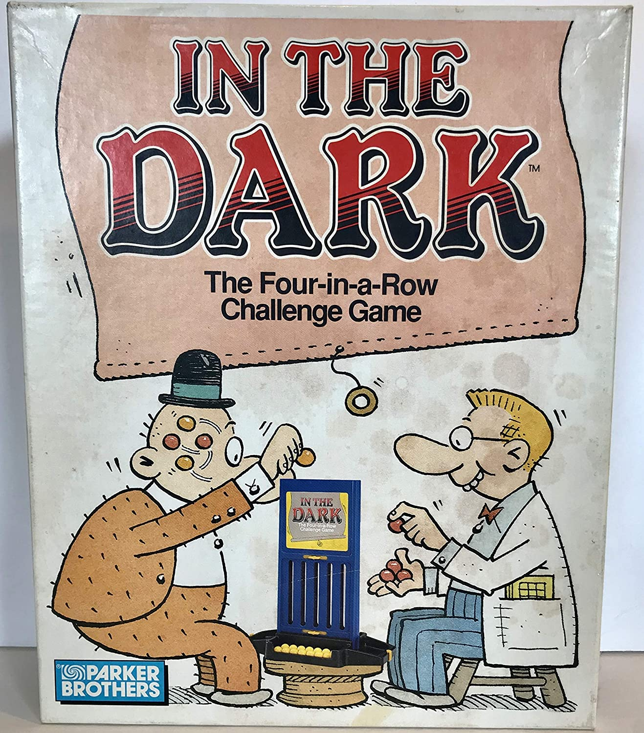 In the Dark Dark Dark the Four-in-the-row Game by Parker Brothers dfe043