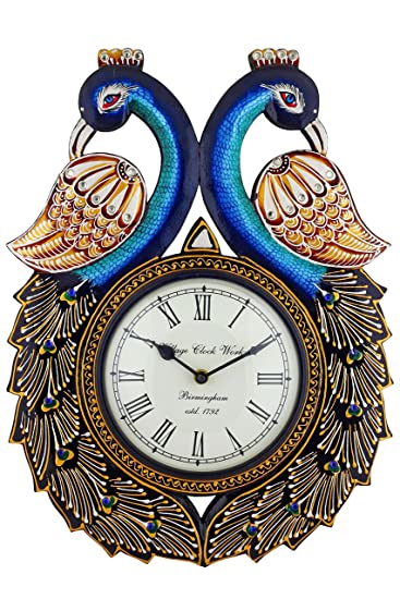 Buy Swagger 12 X 18 inches Vintage Clock decorative wall clock