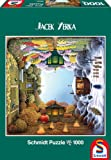 Schmidt Jacek Yerka The Four Seasons Garden Jigsaw Puzzle (1000 Pieces)