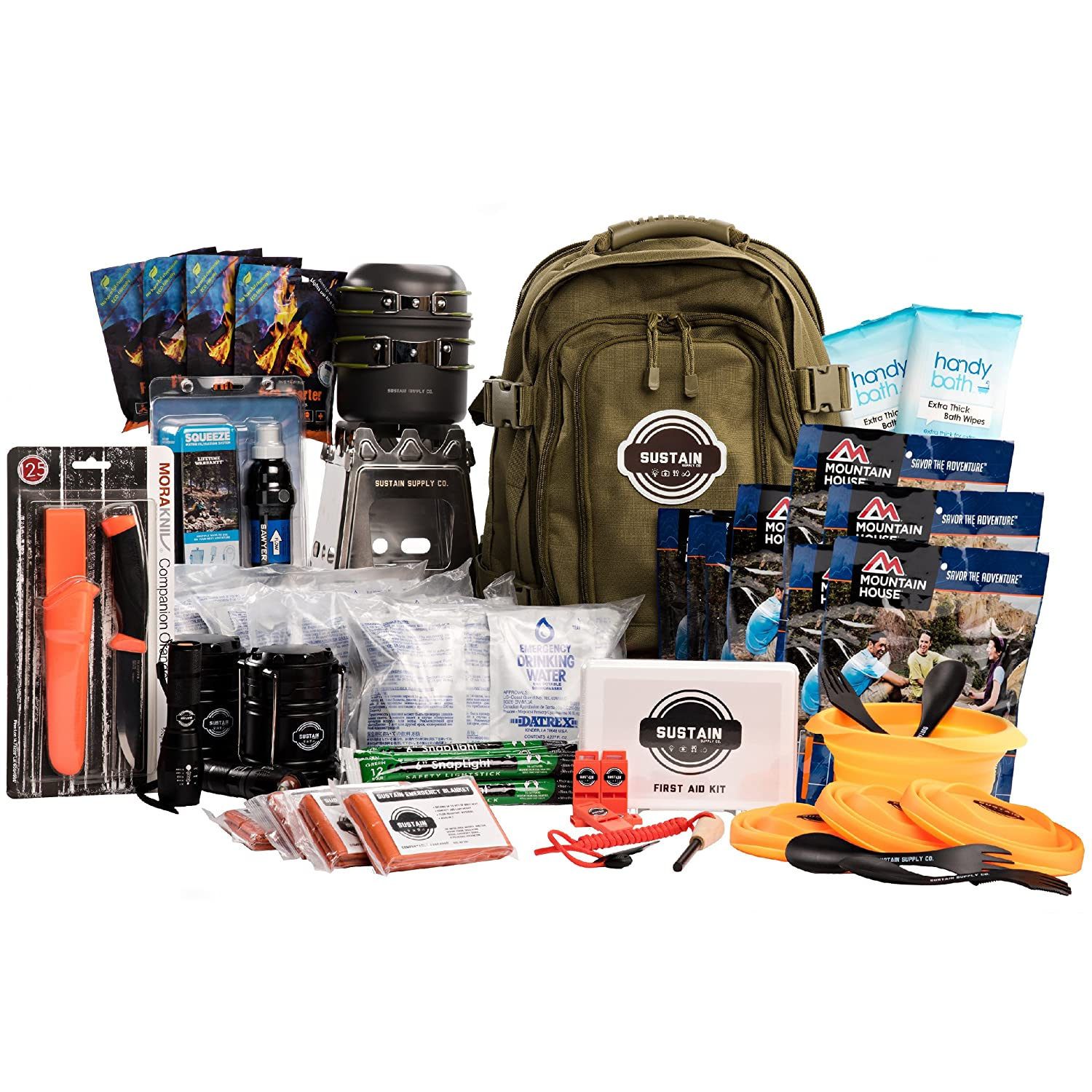 Premium Emergency Survival Bag/Kit