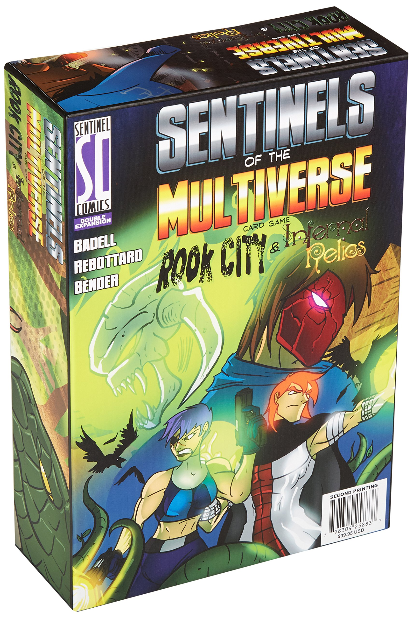 Greater Than Games Sentinels of The Multiverse: Rook City and Infernal Relics