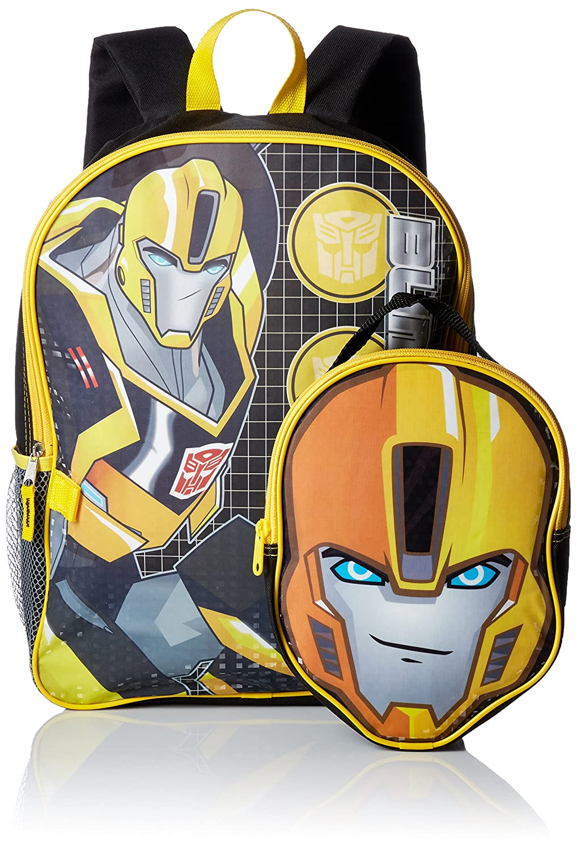 Transformers - Mochila Infantil niño, Amarillo, KAC4085586: Amazon.es: Equipaje