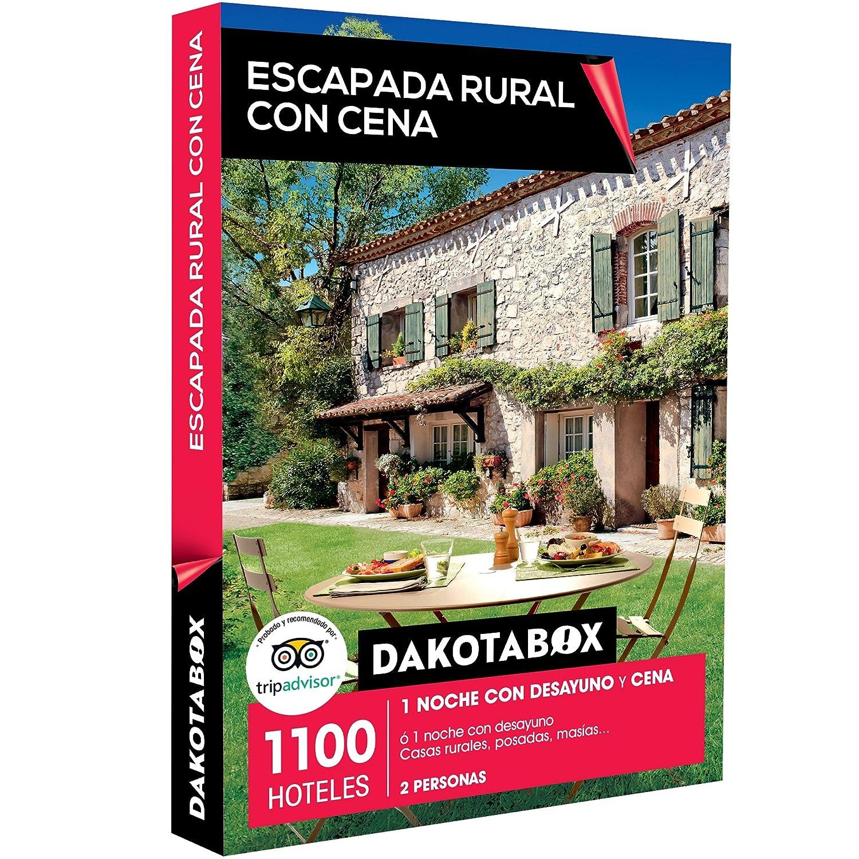 DAKOTABOX - Caja Regalo - ESCAPADA RURAL CON CENA - 1100 hoteles como casas rurales, posadas y masías en España, Francia, Portugal o Italia: Amazon.es: ...