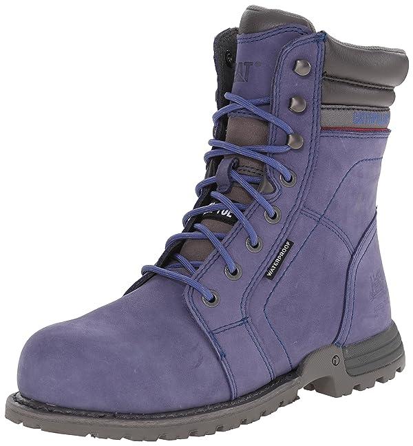 Caterpillar Women's Echo Waterproof Steel Toe Work Boot, Marlin, 6.5 M US (Color: Marlin, Tamaño: 6.5)