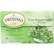 Twinings of London Pure Peppermint Herbal Tea Bags