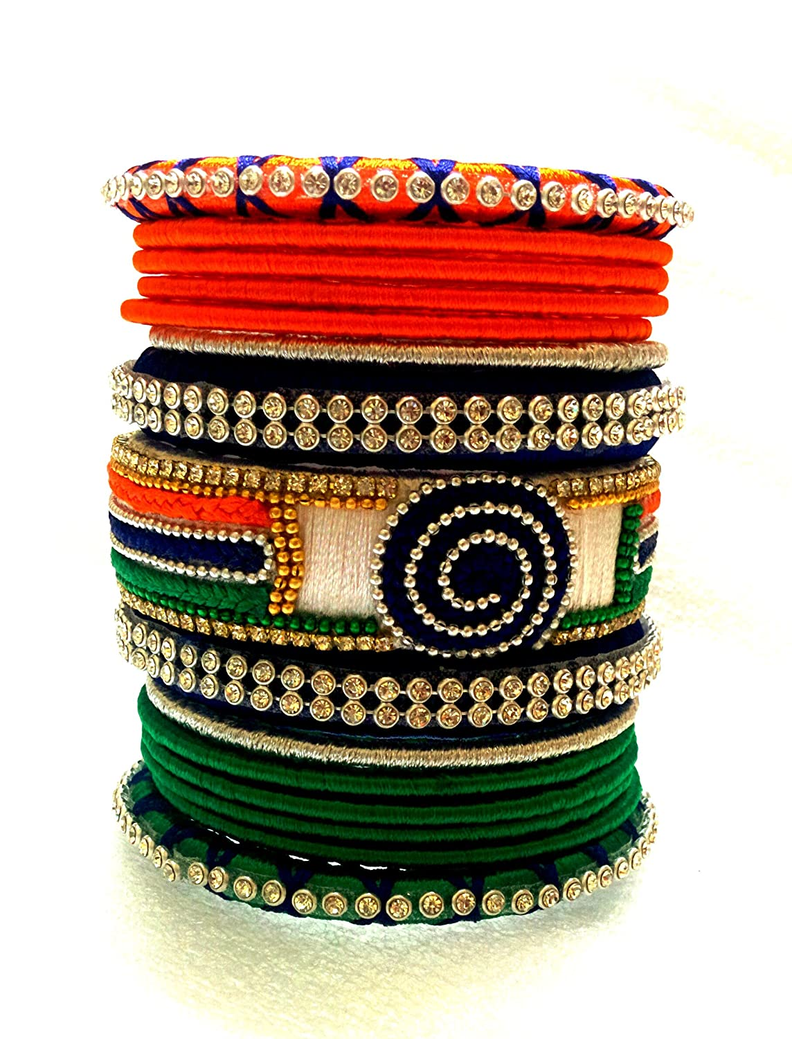polished karat tricolor bangles tube round gold bangle collections bracelet