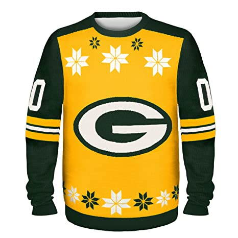 Green Bay Packers Almost Right But Ugly Sweater Medium Amazonin
