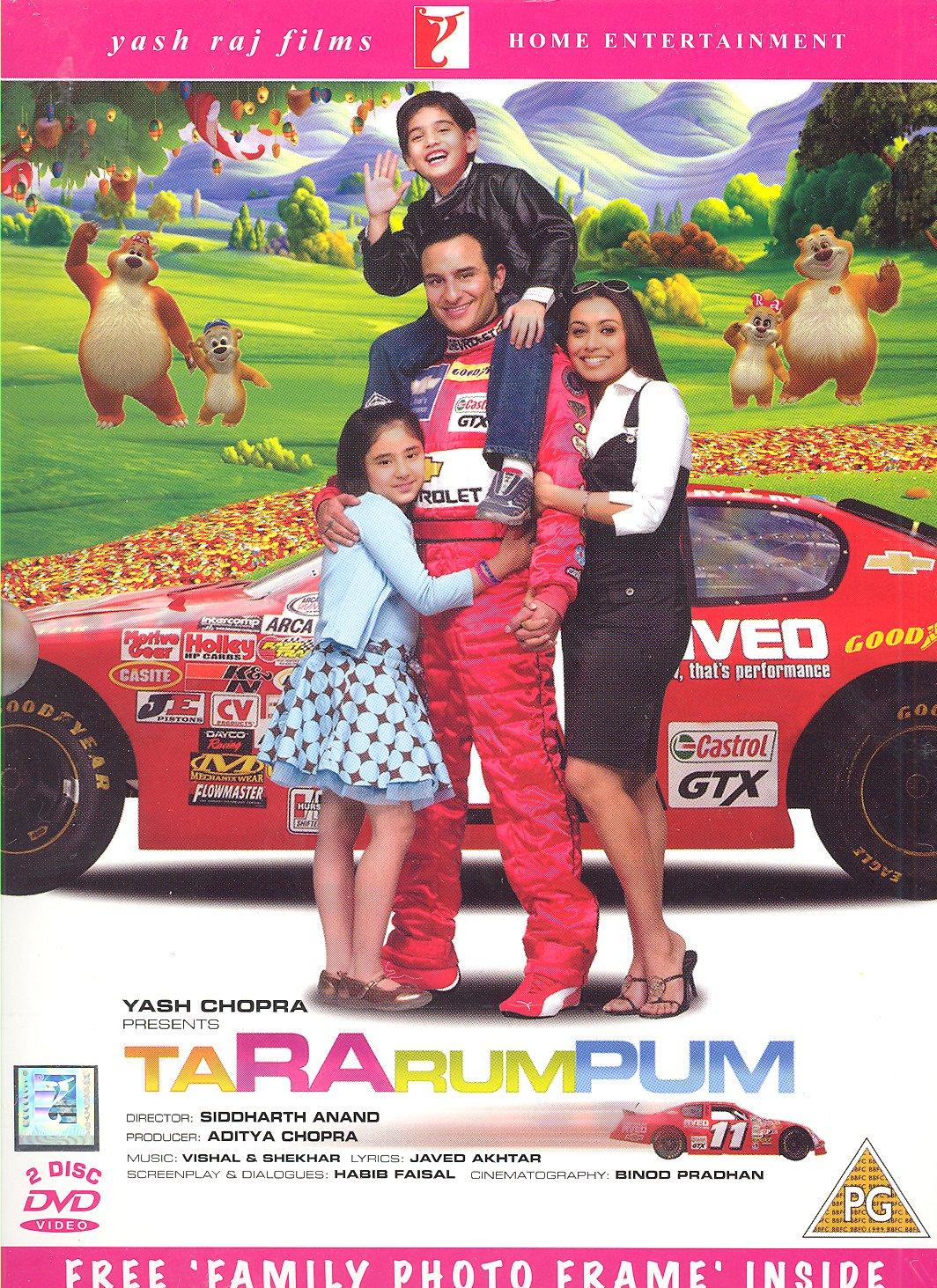 Amazon.com: Tara rum pum (Bollywood Movie / Indian Cinema / Hindi ...