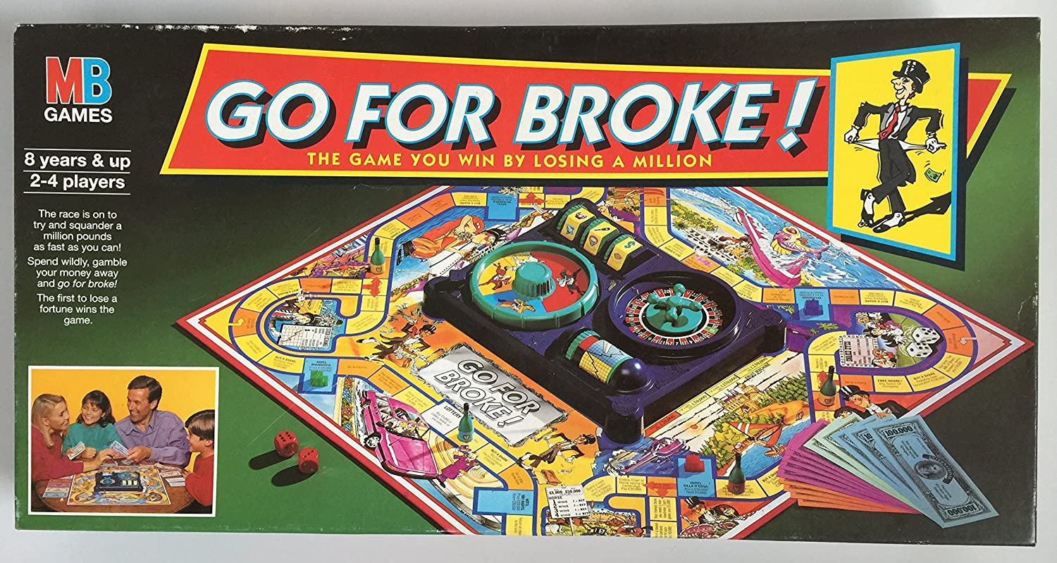 Go For Broke by MB Games: Amazon.es: Juguetes y juegos
